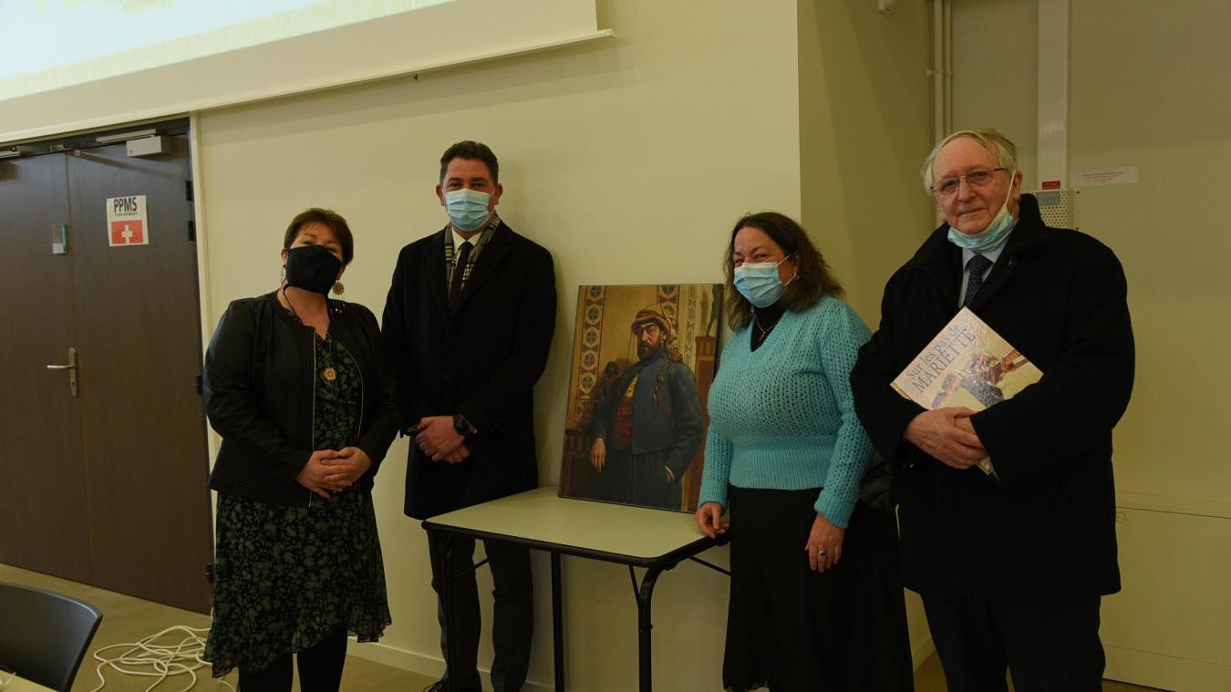 Marie-Dominique Lobry (en bleu) a tenu une conférence la semaine dernière. Pour le reste du calendrier, aucun événement n'est pour l'heure programmé.