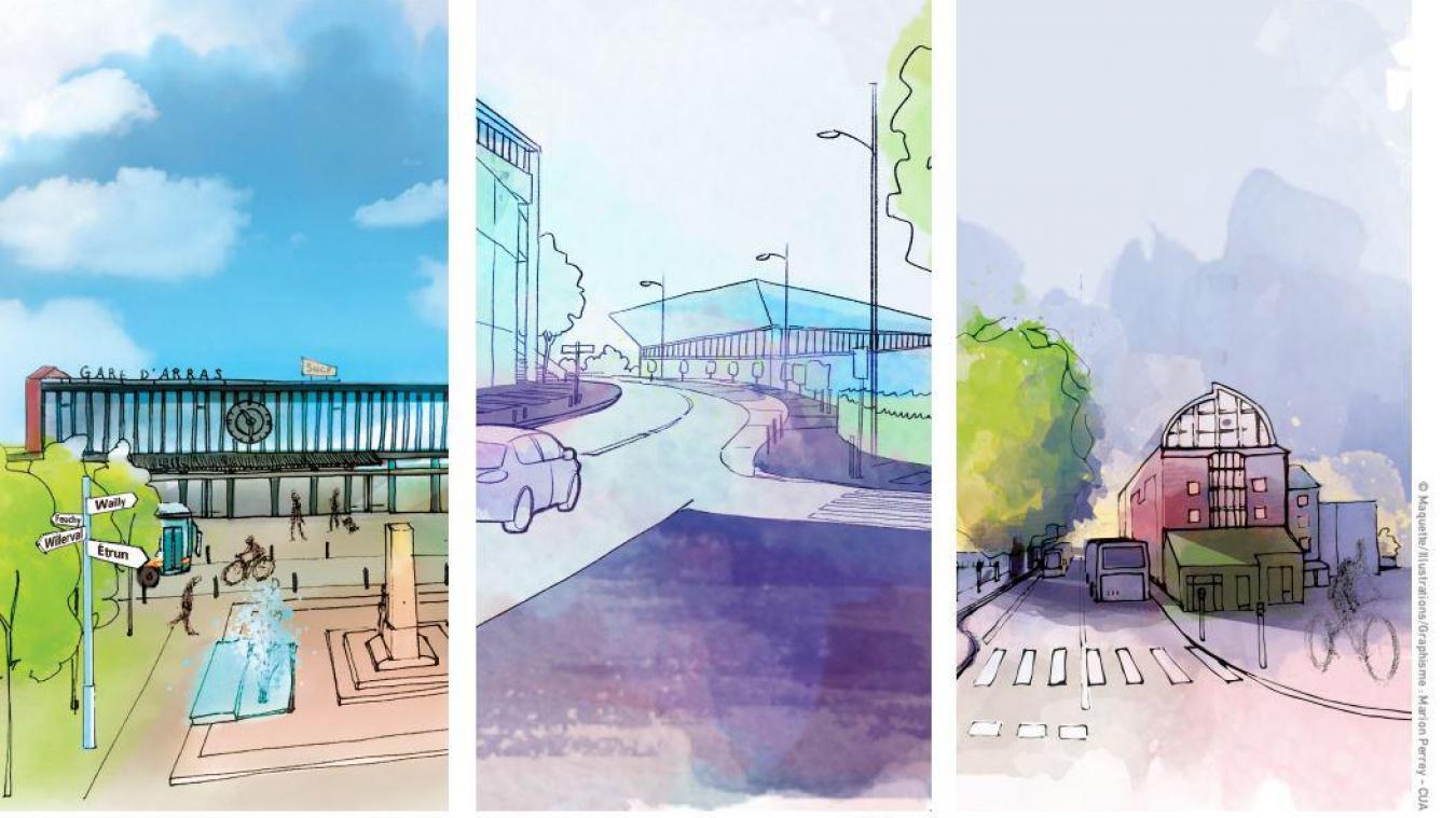 Des travaux préparatoires (dévoiement de réseaux, démolitions…) pourraient intervenir dès mi-2022 dans le cadre du réaménagement de la gare d'Arras.