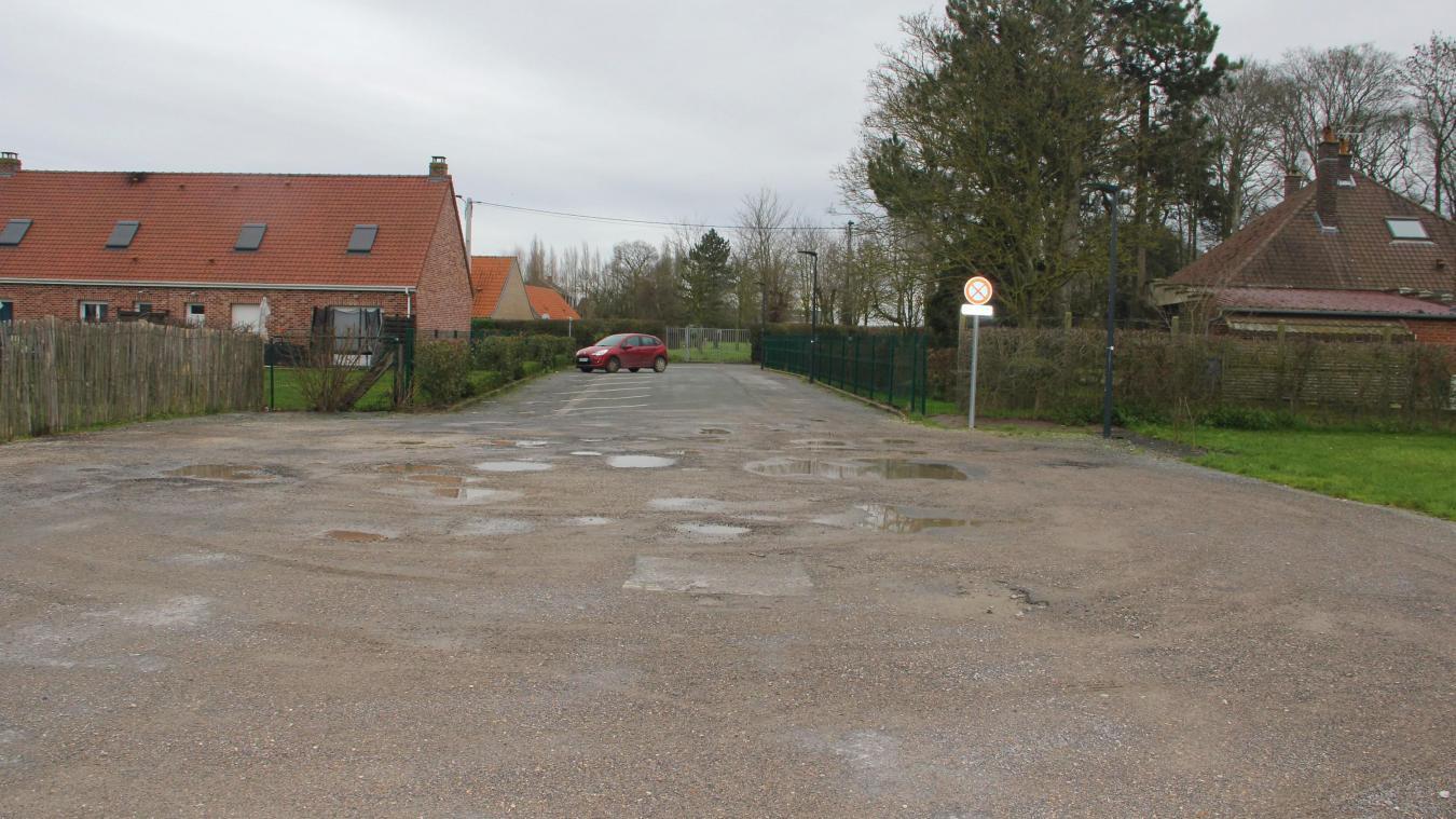 Le nouveau parking proposera 20 places dont une PMR.