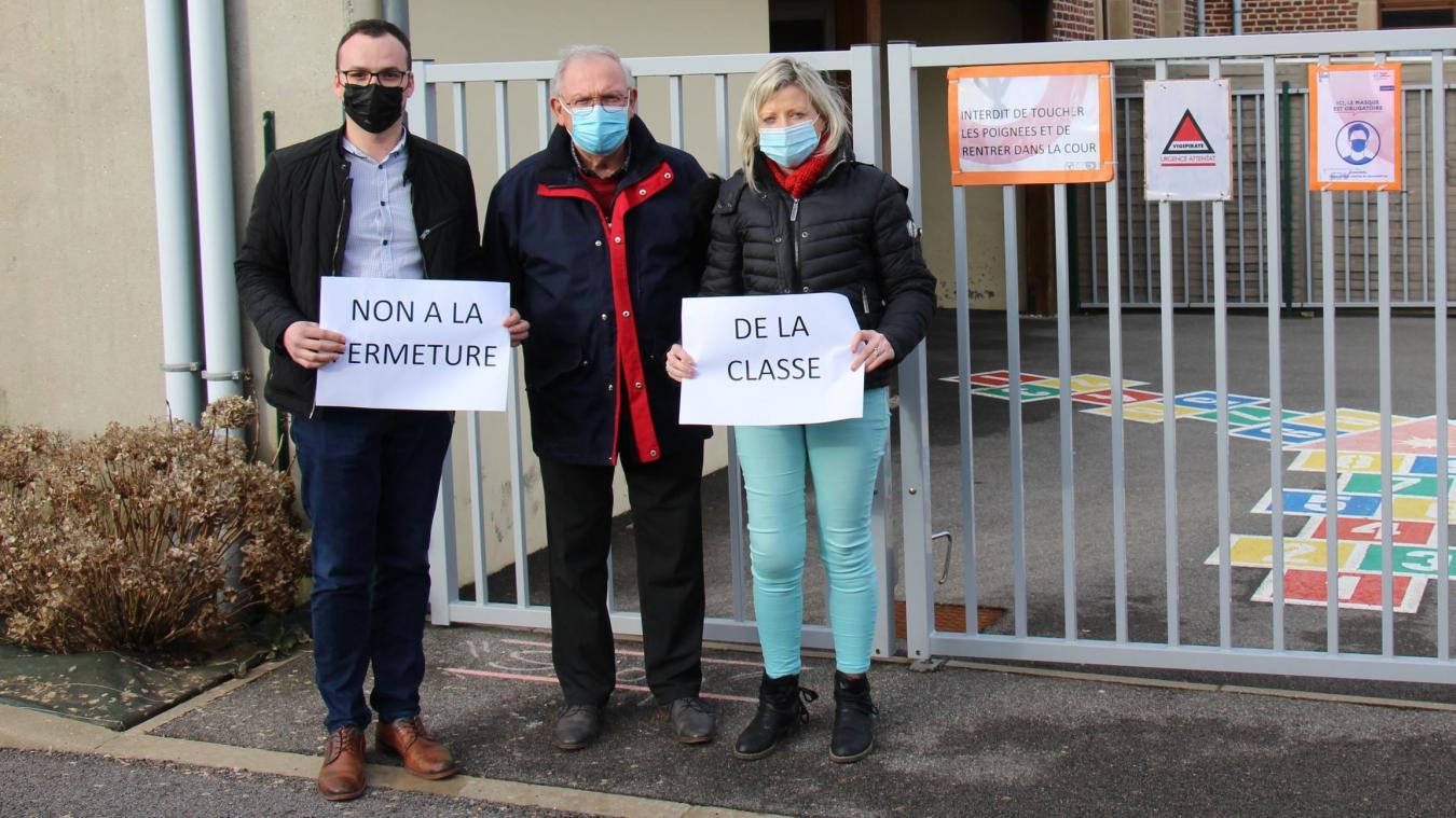 La fermeture de l'unique classe de l'école de La Calique signifierait la fin de l'établissement.