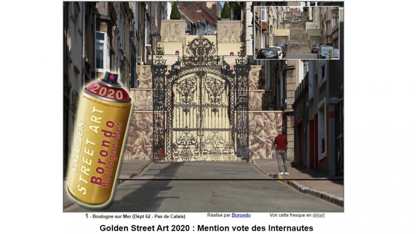 La Ville de Boulogne a enfin décroché le Graal du street art avec l'œuvre de Gonzalo Borondo.