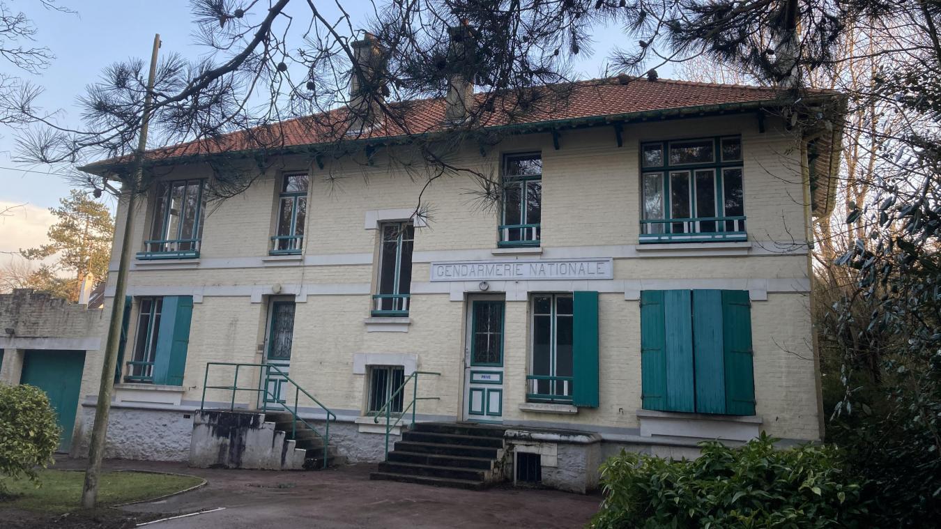 L'ancienne gendarmerie, située avenue de Picardie, pourrait abriter prochainement le commissariat de la Police nationale.