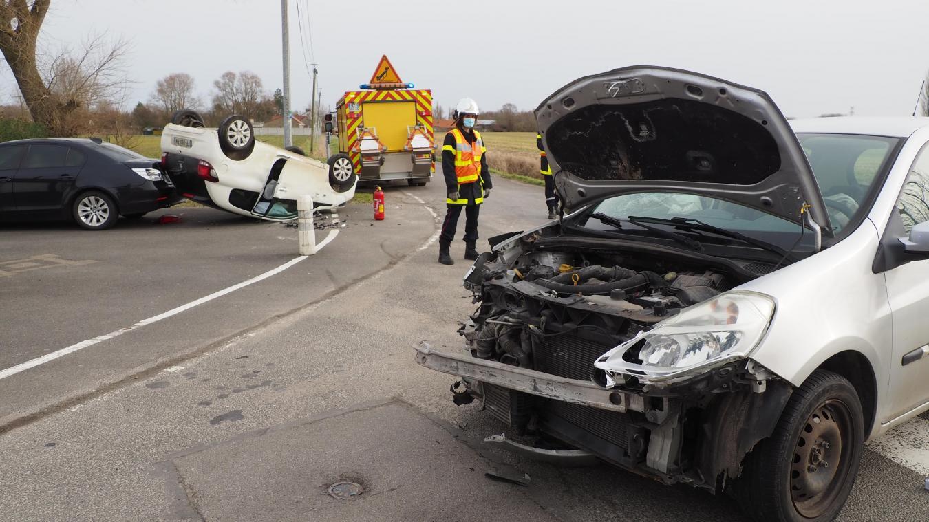 L'accident est survenu ce lundi 22 février dans la matinée.