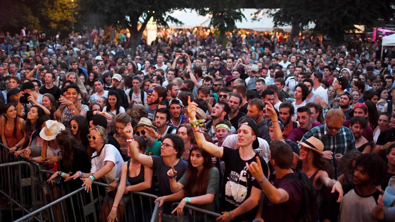 Le festival, qui peut rassembler jusqu'à 5000 personnes sur deux jours, est annulé pour 2021. (©Alexandre Traisnel)