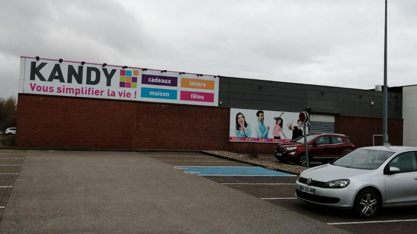 Les faits se sont déroulés au magasin Kandy de Wimereux le 5 février dernier.