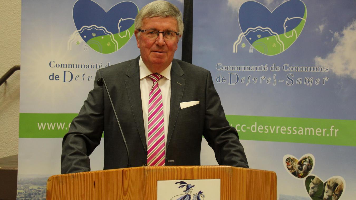 Claude Prudhomme, président de la CCDS, a envoyé un communiqué aux élus de son intercommunalité pour leur expliquer la situation.