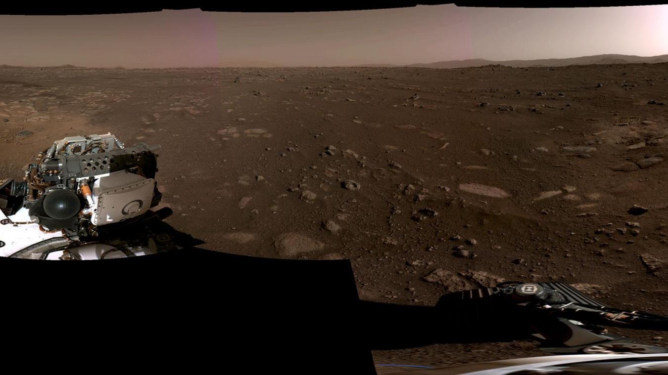 Perseverance s'est posé sur Mars le 18 février.