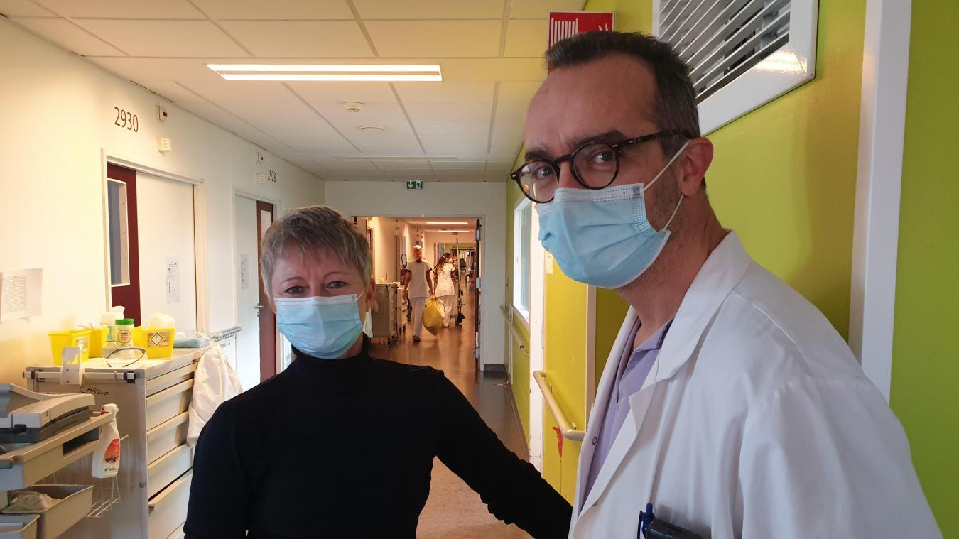 L'infirmière et le médecin mettent de l'humain dans la relation au patient.