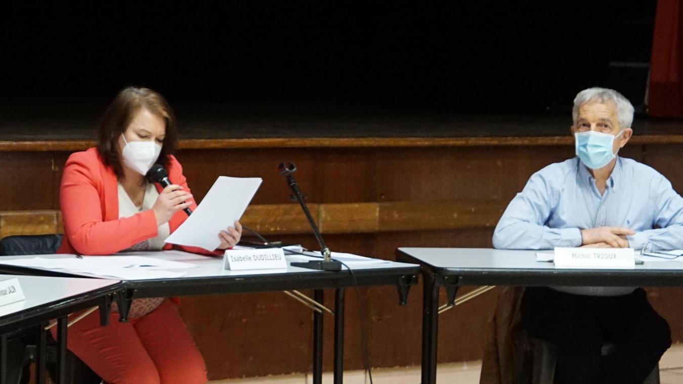 Mardi 23 février, Isabelle Dudillieu a voulu apporter des clarifications sur cette polémique avant la tenue du conseil communal.
