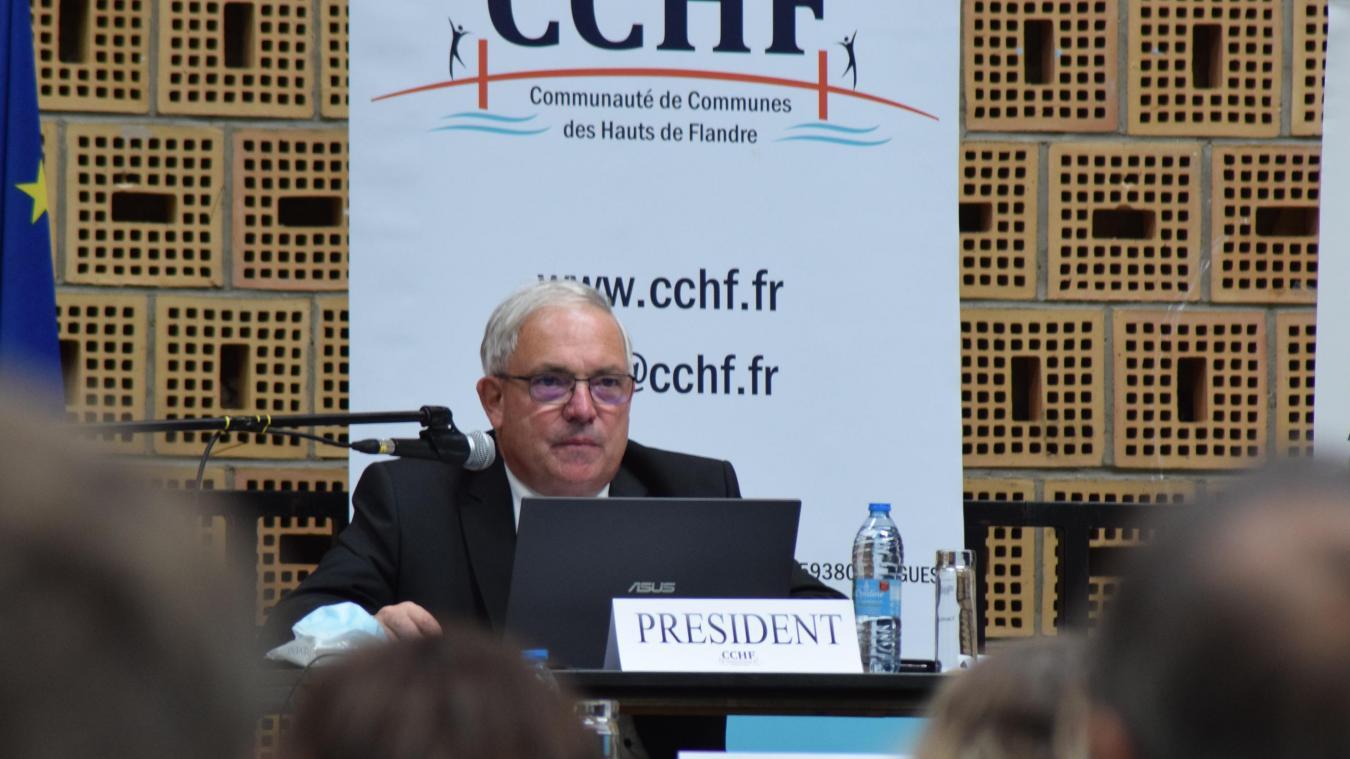 André Figoureux réclame plus de vaccins au ministre de la Santé.