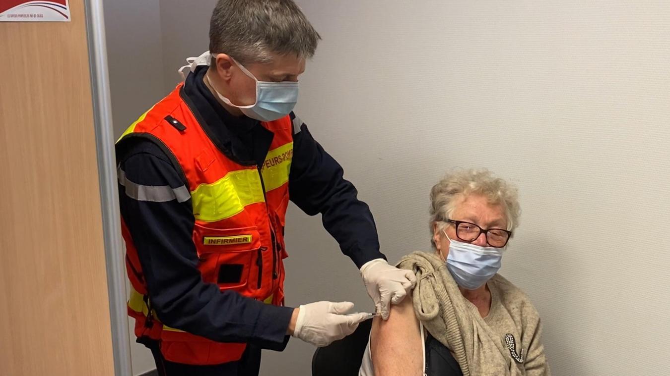 Plus de 300 personnes ont été vaccinées à Desvres.