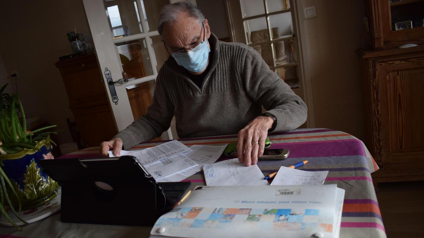Le dossier médical de Jehan-Marie est conséquent. Il pensait vraiment ne pas devoir attendre plus d'un mois pour bénéficier d'un vaccin contre la Covid-19.