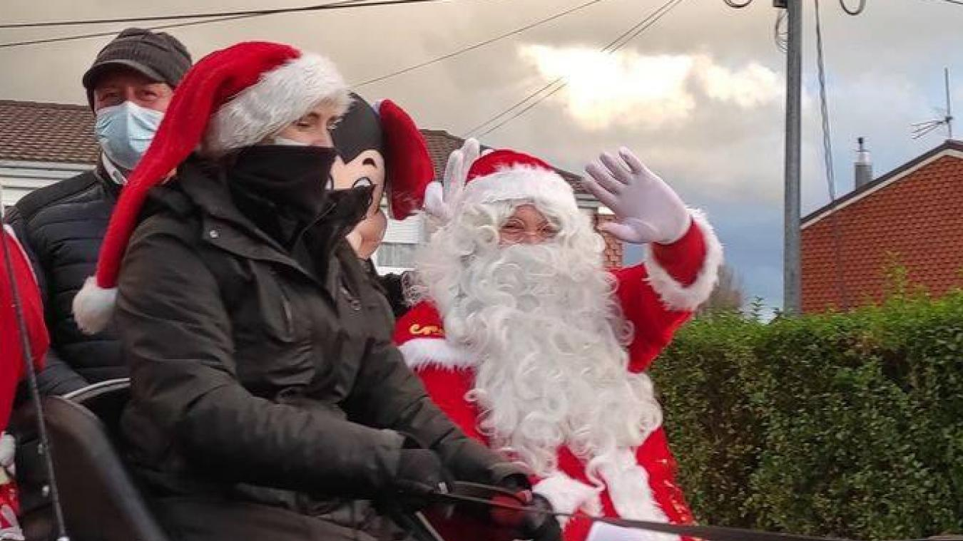 Le Père Noël se rendra à la mairie d'Esquelbecq ce mercredi 3 mars, toute l'après-midi.