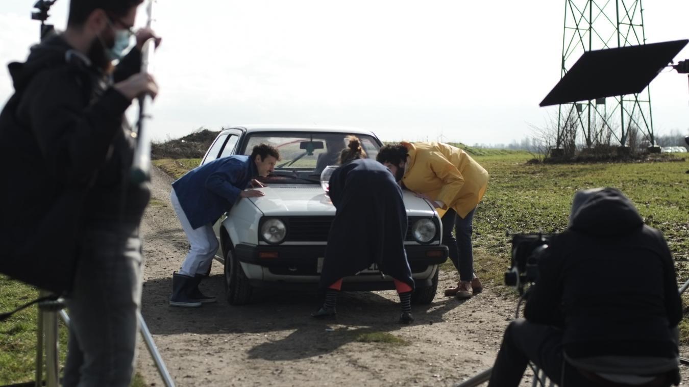 Depuis le mardi 23 février, le tournage du court-métrage «Le bas-côté» a débuté.