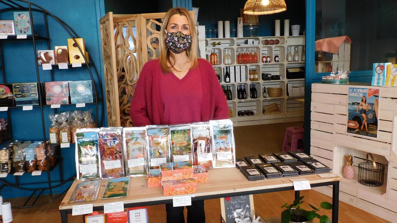 L'épicerie fine d'Olivia Miot fait découvrir les saveurs du monde entier.