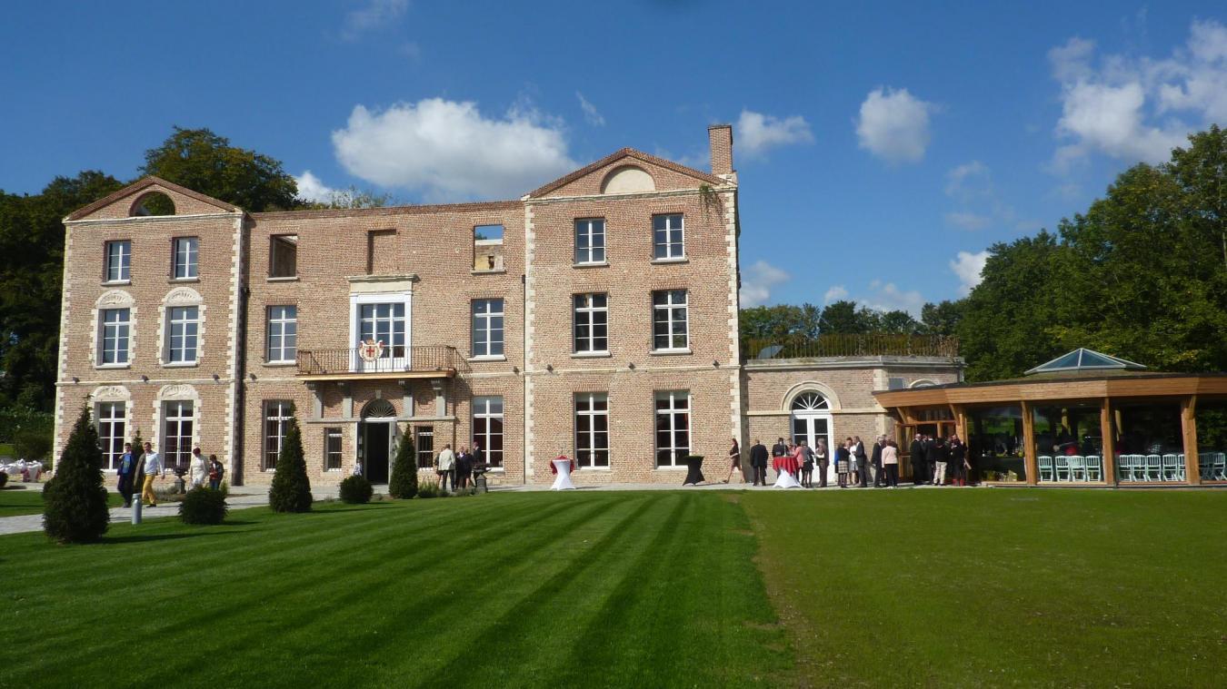 Le château de Morbecque sera l'un des lieux qui accueillera les musiciens. (Photo d'archives)