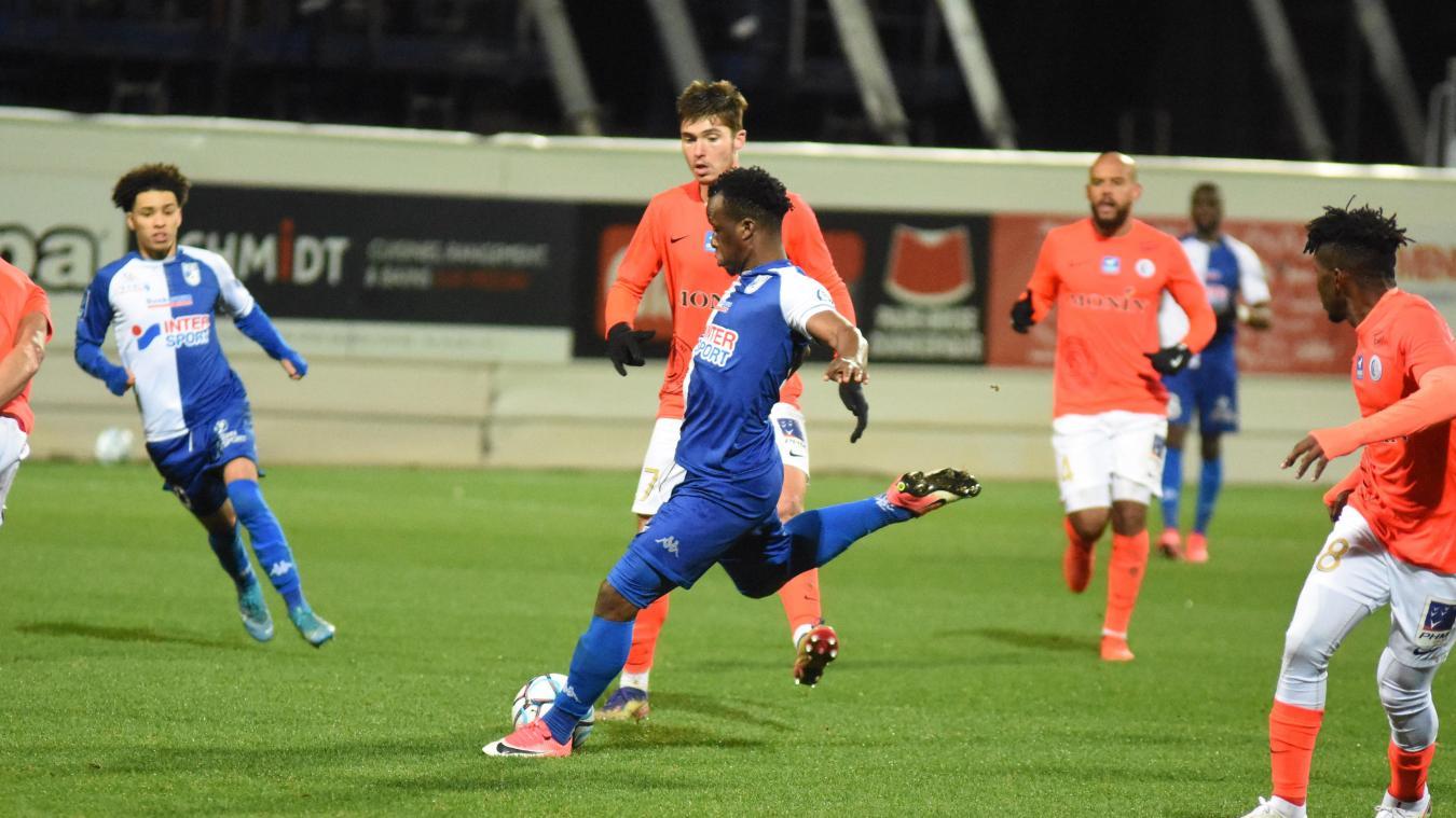 Fanta Diarra a retrouvé l'efficacité après 12 matchs sans marquer.