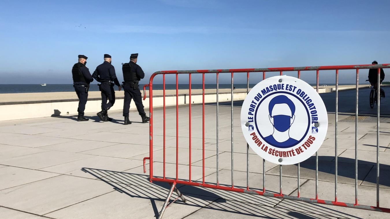 Malgré un déploiement important de forces de l'ordre, aucune verbalisation n'a eu lieu ce samedi matin sur le territoire de la Communauté urbaine de Dunkerque.