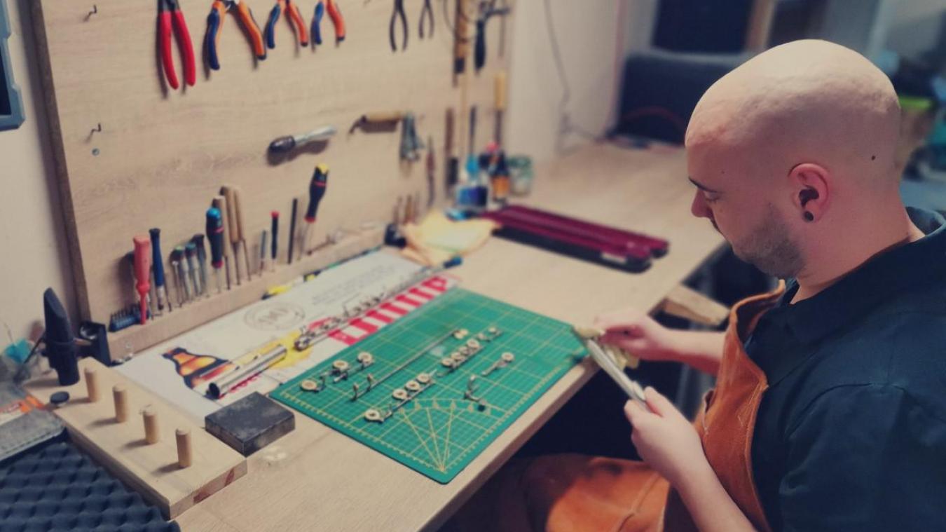L'artisan a fait de sa passion son métier, en créant Octo'Vent.