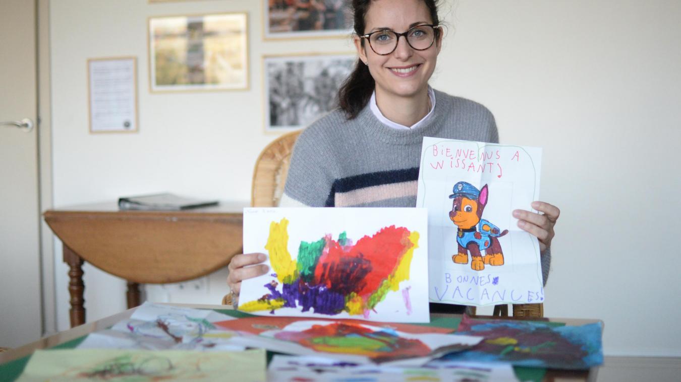 Audrey Diacre, responsable de la maison de vacances Maris Stella.