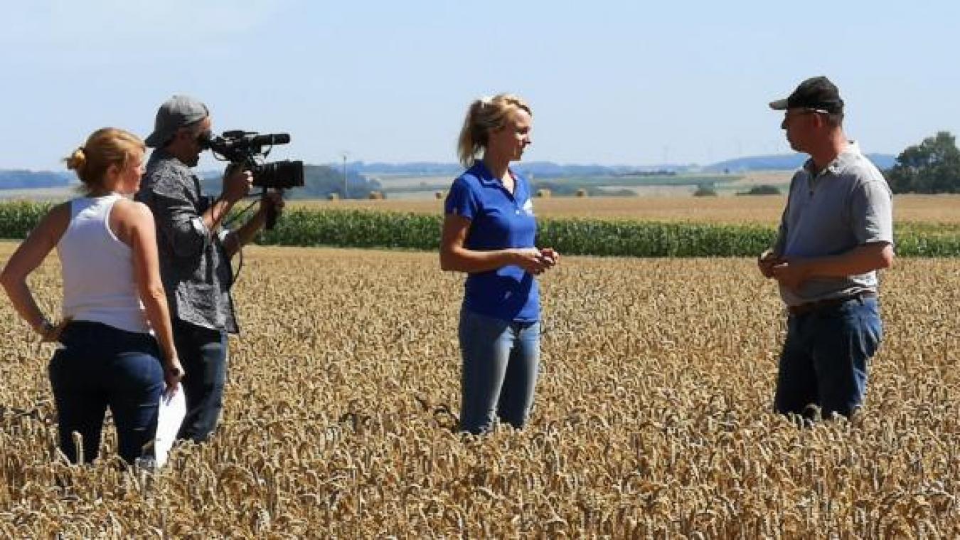 L'émission s'est intéressée à la culture du blé depuis le semis en novembre 2019 jusqu'à la récolte en juillet 2020.
