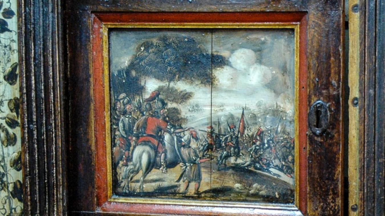 L'acquisition sera inédite, il n'existe aucun autre exemplaire de ce cabinet dans les musées de France.