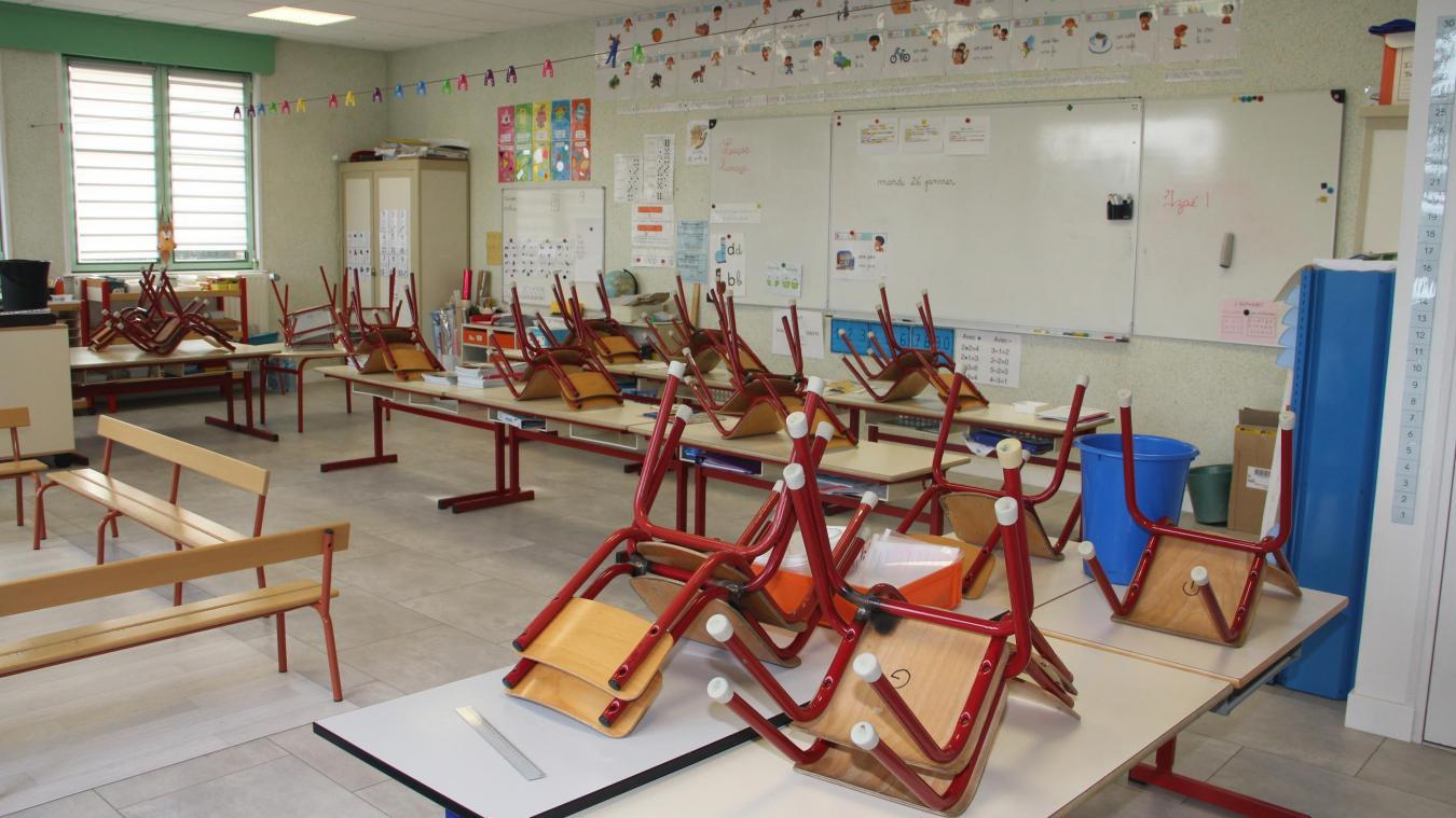 La nouvelle salle de classe.