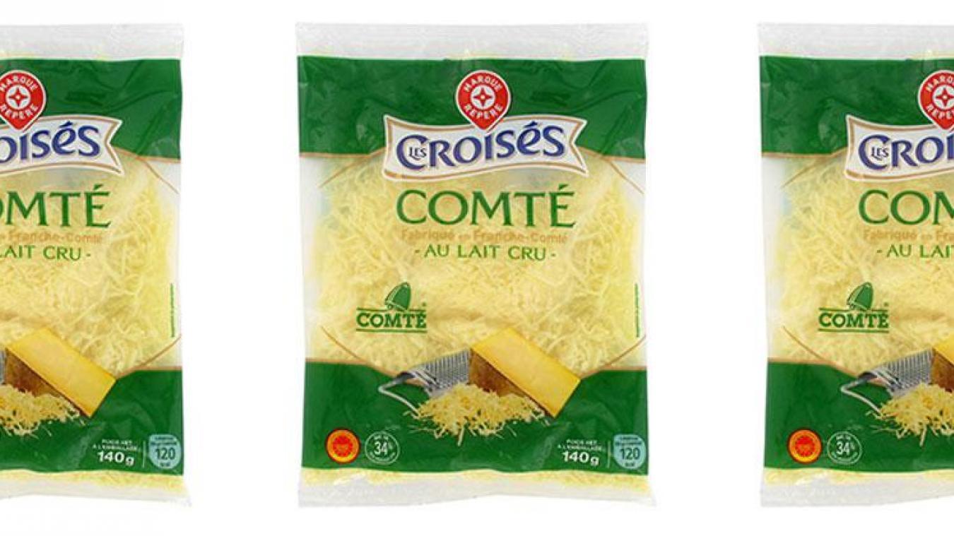 Leclerc rappelle des sachets de fromage râpé pour un risque de listeria