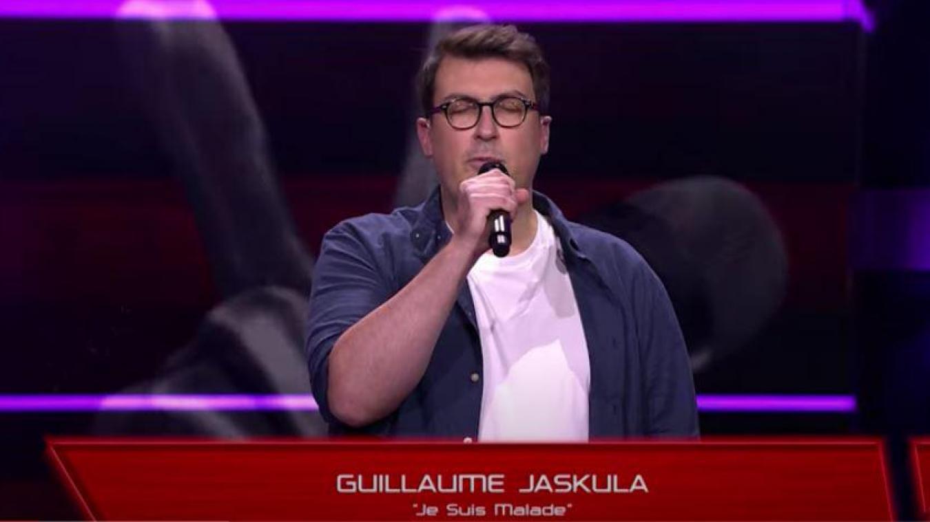 Guillaume Jaskula a impressionné avec sa version de Je suis malade de Serge Lama.