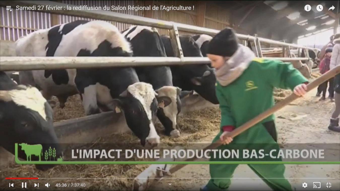 La plus grande ferme des Hauts-de-France s'invite chez vous