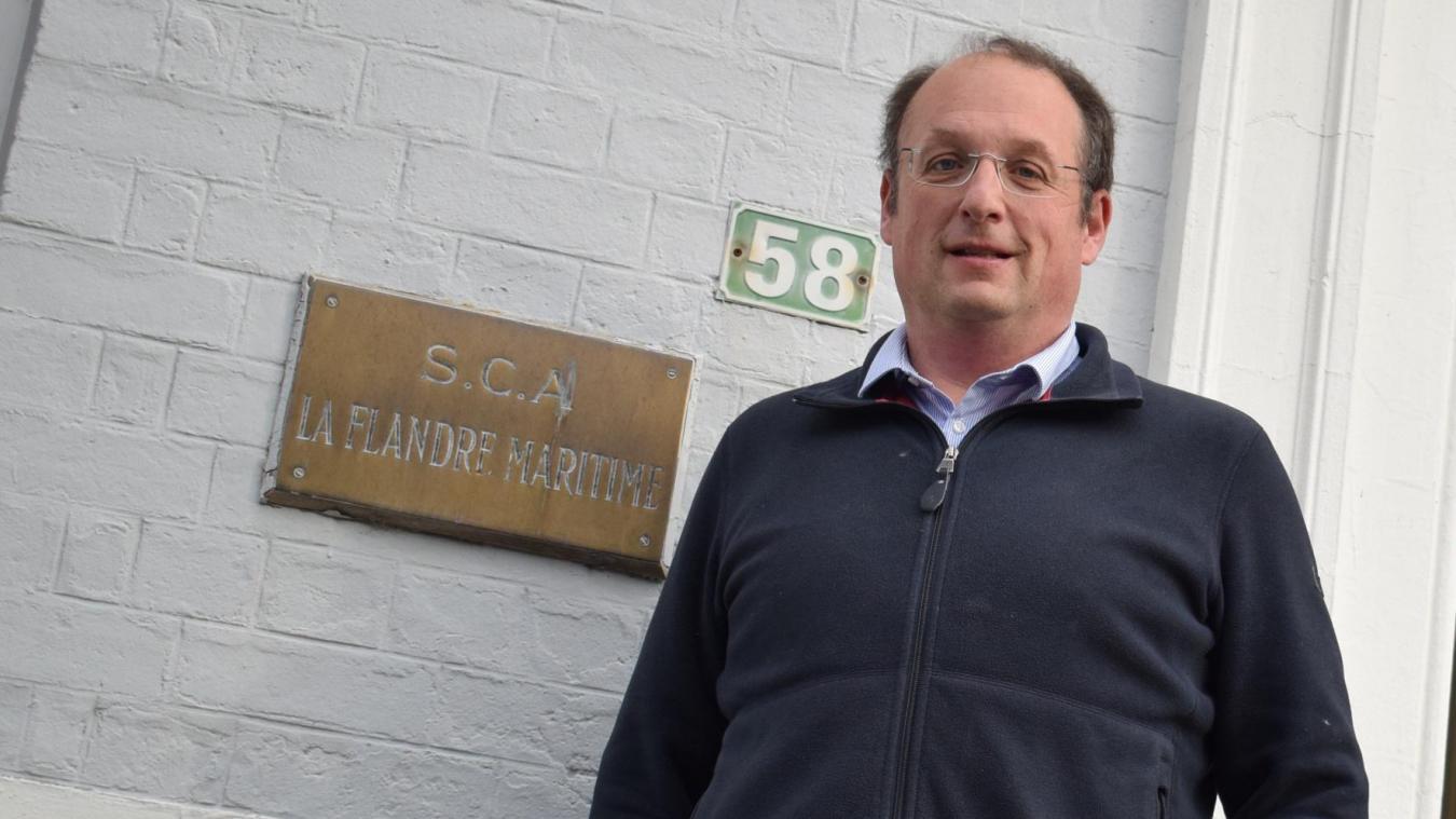 Membre de la coopérative agricole La Flandre depuis 31 ans, Alexandre Rivenet connaît son fonctionnement. Maintenant, il découvre la fonction de président.