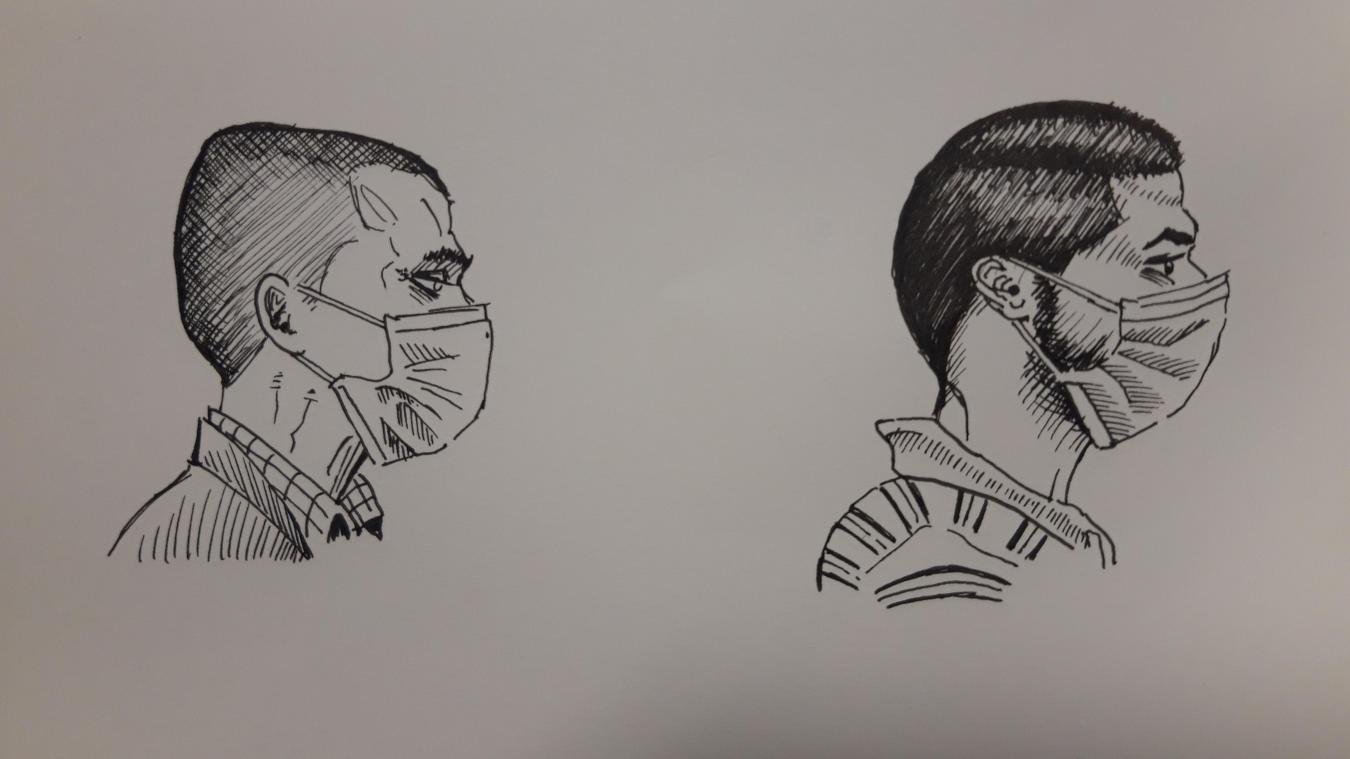 Michel et César (prénoms d'emprunt) ont eu des parcours semblables, entre misère sociale et affective, et ont déjà passé près de dix ans en prison.