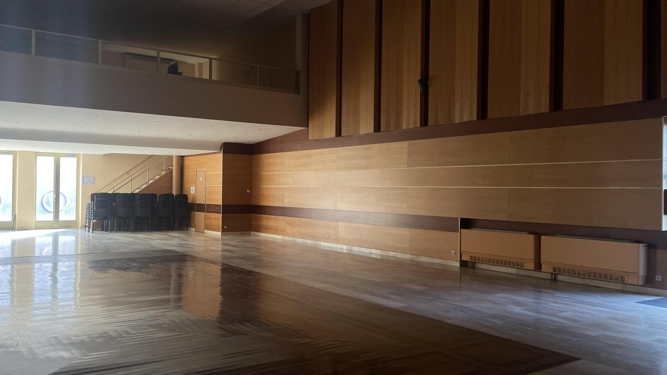 À l'avenir, la salle des fêtes pourrait accueillir 300 personnes et plus de spectacles.