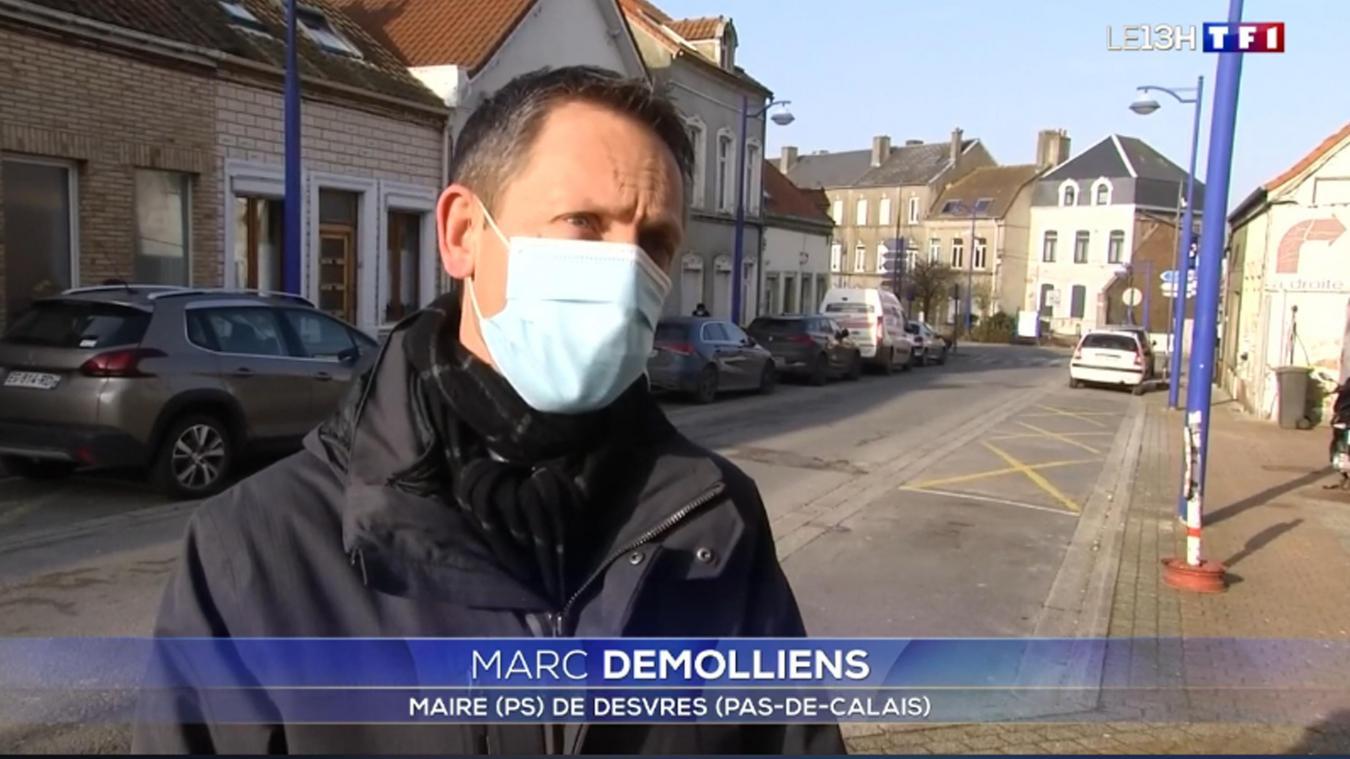Pour Marc Démolliens, maire de Desvres, la priorité c'est surtout une accélération de la vaccination.