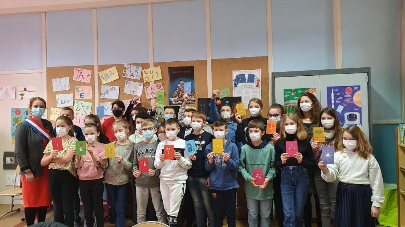 Le 19 février, la classe de CM2 de Louis-Pasteur a échangé avec la Députée.