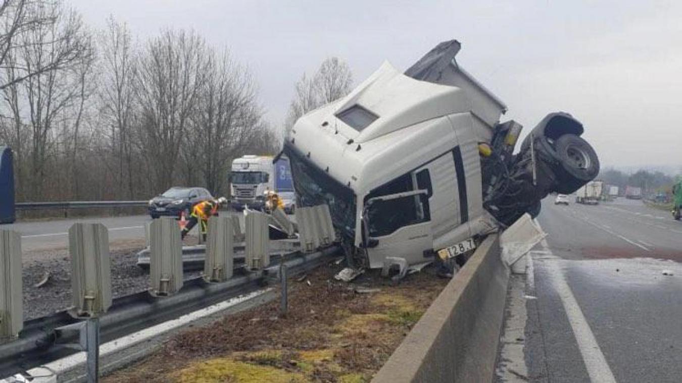 Surprenant accident sur l'A1 dans le secteur de Péronne