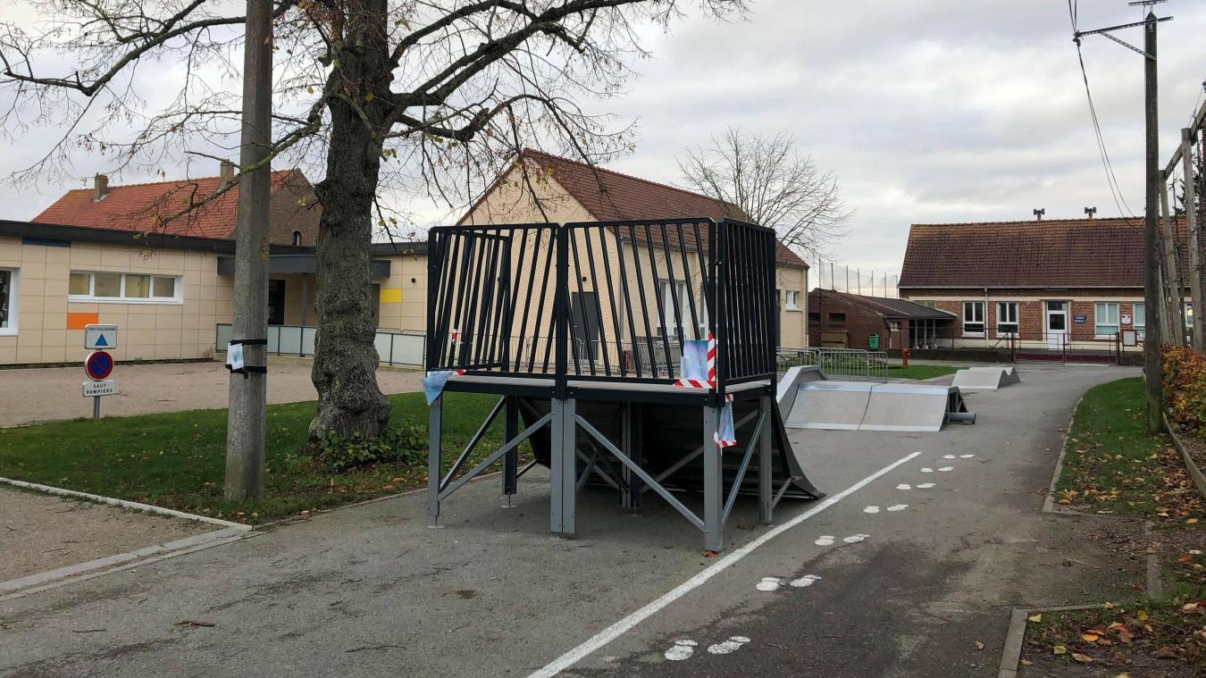 Houtkerque: des incivilités constatées au skatepark