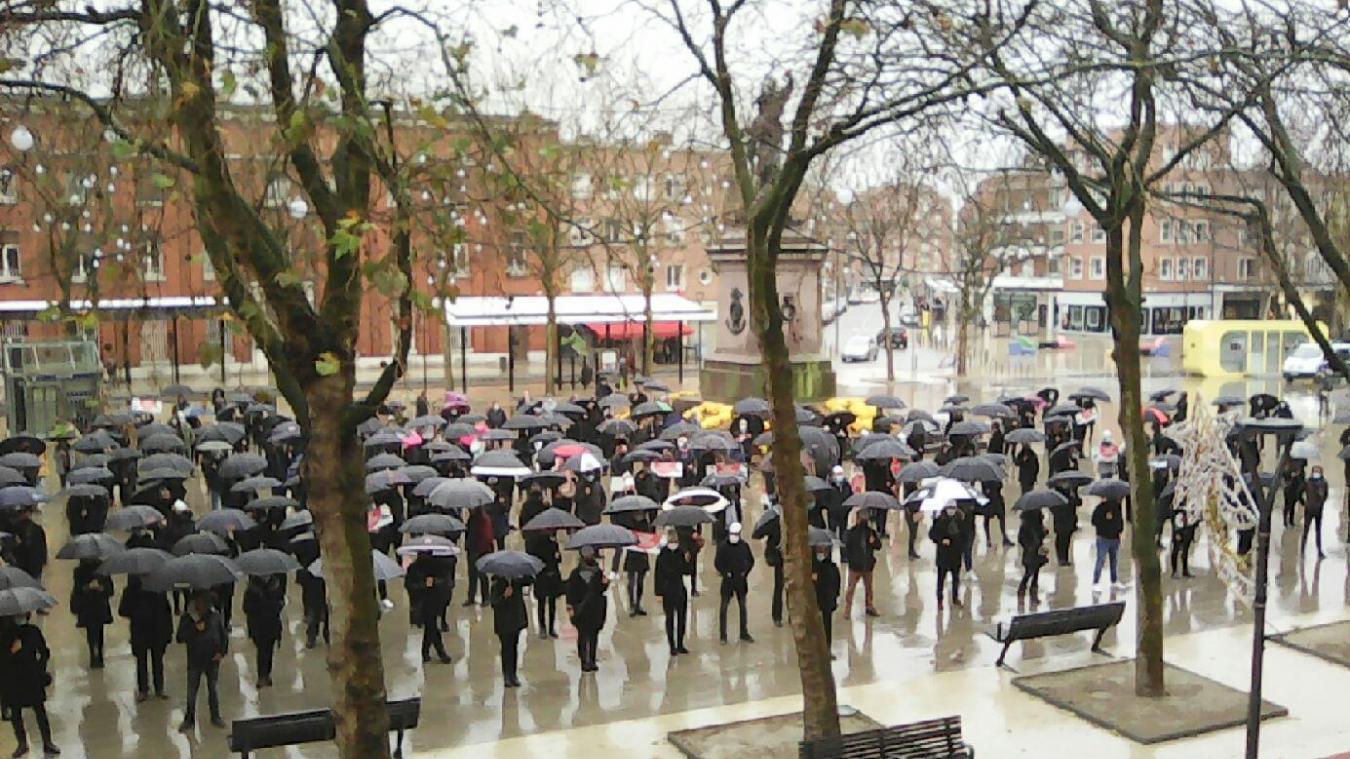 À l'image des commerçants en novembre dernier, la manifestation de Dunkerquois en colère se déroulera place Jean-Bart.