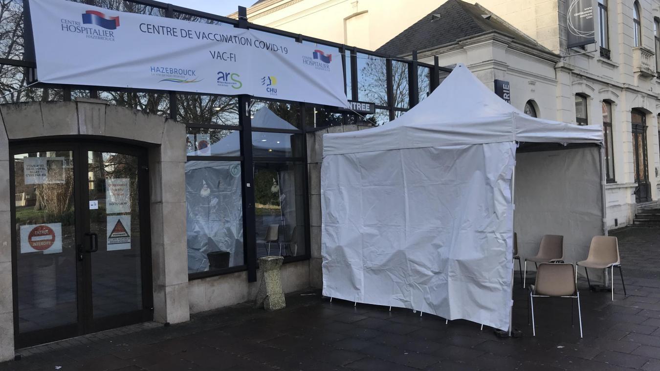 Le centre de vaccination d'Hazebrouck est installé à Espace Flandre, rue du Milieu.