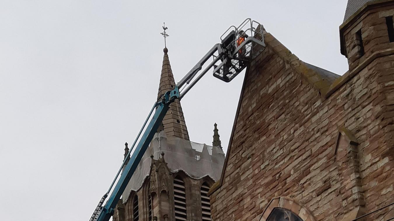 À Vitry-en-Artois, pourquoi l'église est actuellement en travaux
