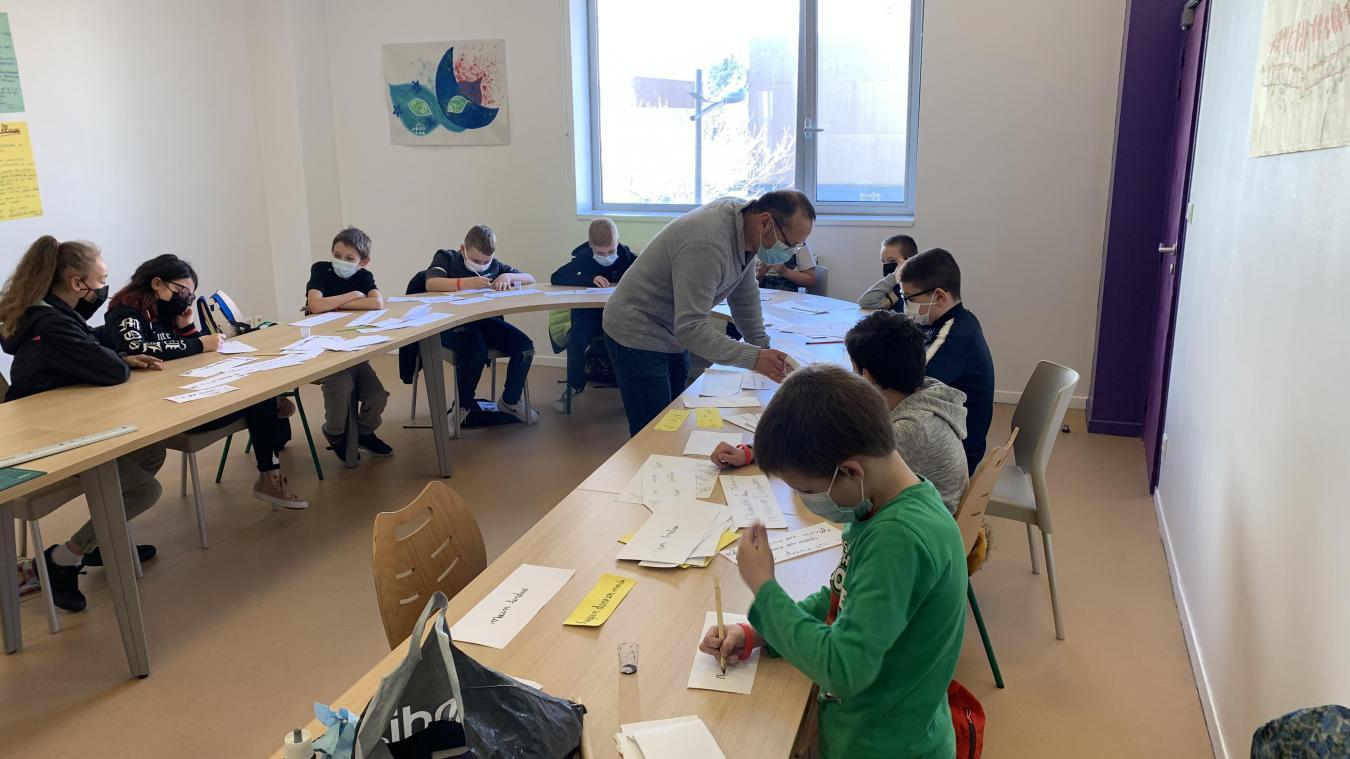 L'atelier est très apprécié par les jeunes participants.