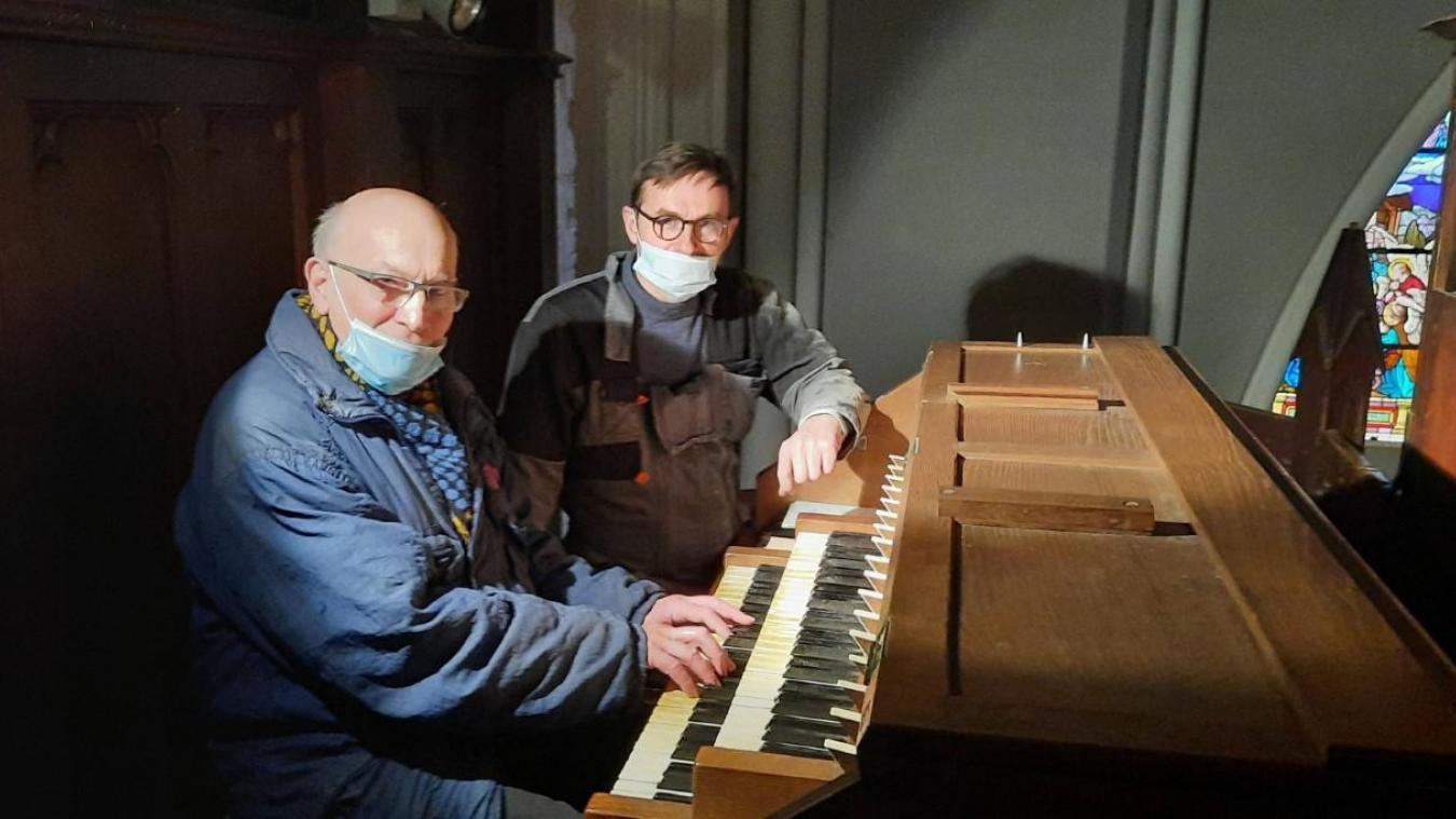 Après plusieurs mois de restauration, l'orgue retrouve sa jeunesse d'antan.