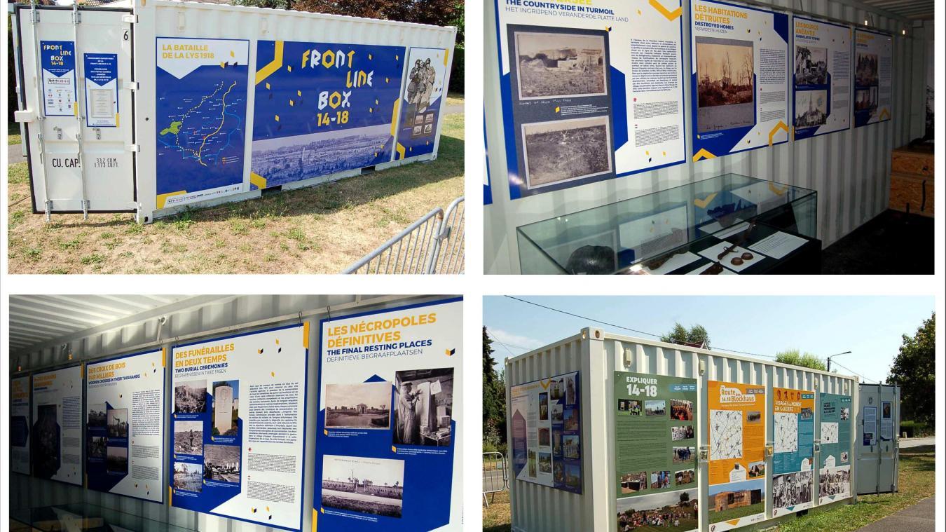 La box est actuellement à Neuve-Chapelle et s'ouvre le 2nd samedi de chaque mois entre 14h et 17h.