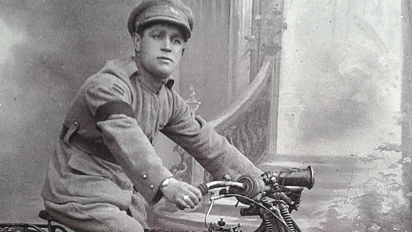 Le grand-père de José Barbara, soldat portugais.