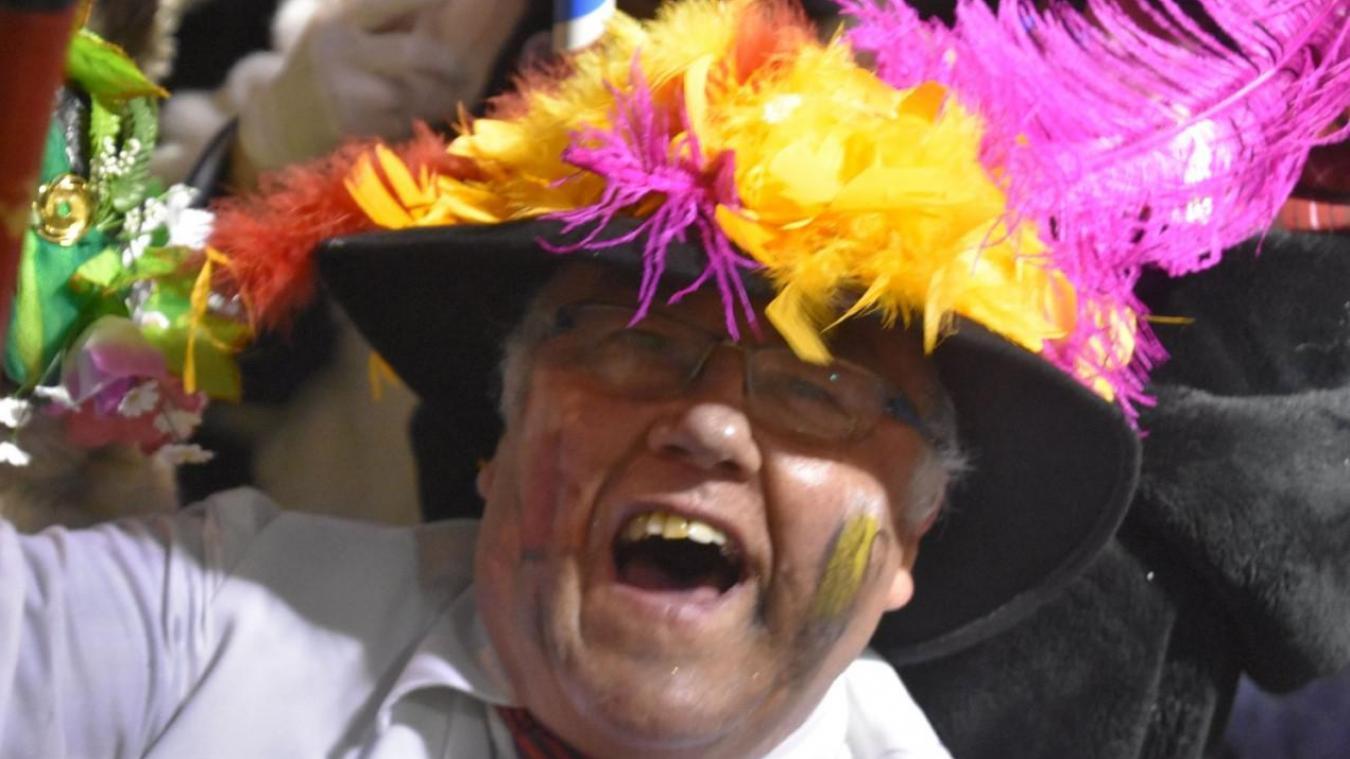 Joël Vasseur, président des Joyeux berguenards a poussé la chansonnette pour Le Journal des Flandres. ©Musicograph