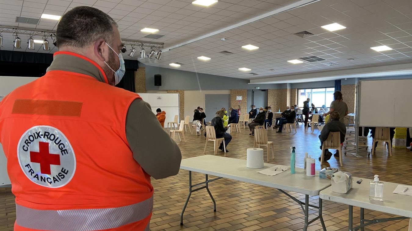 À 11h20, 38 personnes s'étaient déjà fait tester à La Gorgue.