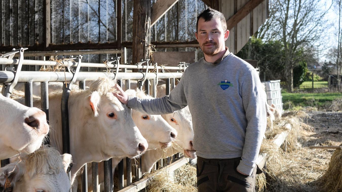 A 23 ans, Benjamin a repris l'exploitation familiale et a développé la vente directe à Audruicq.