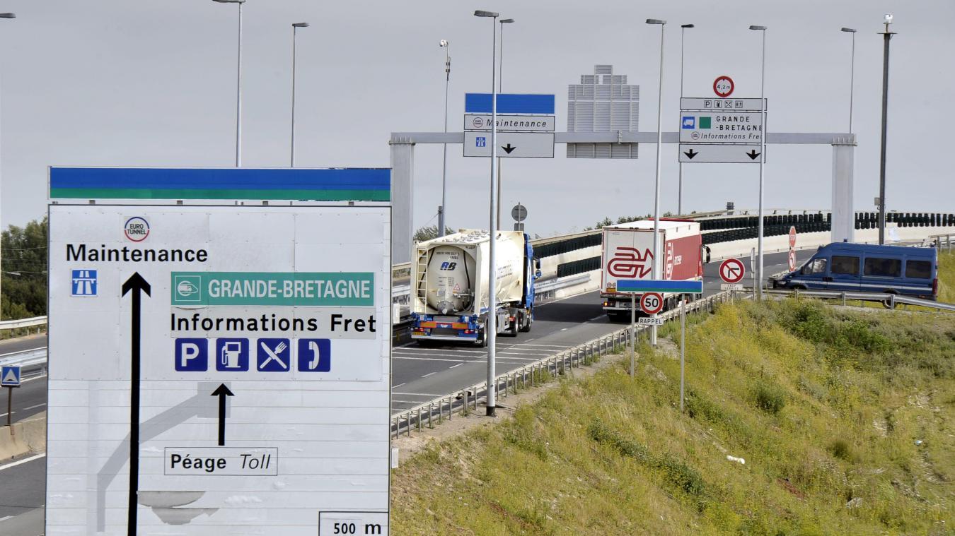 Le véhicule a été intercepté aux alentours de 3 heures du matin au tunnel sous la Manche.