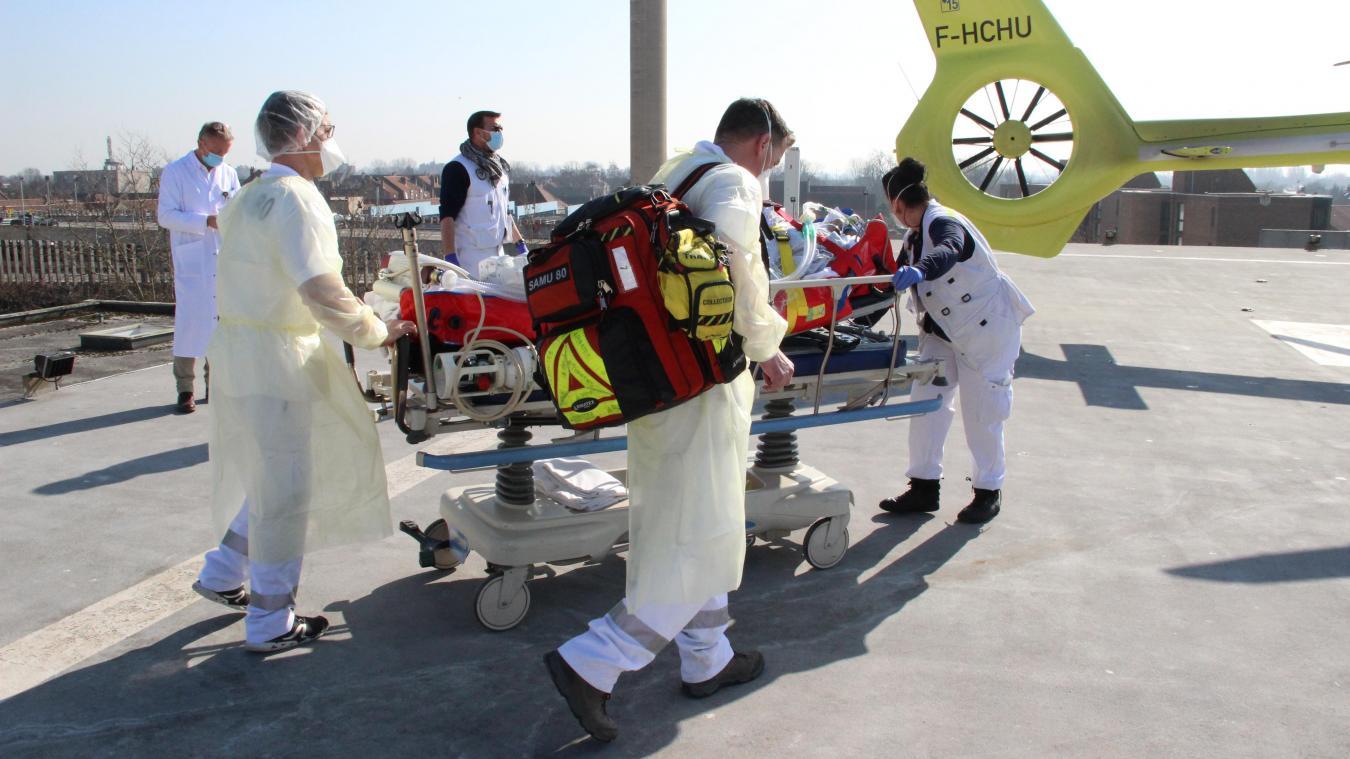 Du 1er février au 7 mars, 151 patients, atteints ou non de la Covid-19, ont dû être transférés vers d'autres établissements.