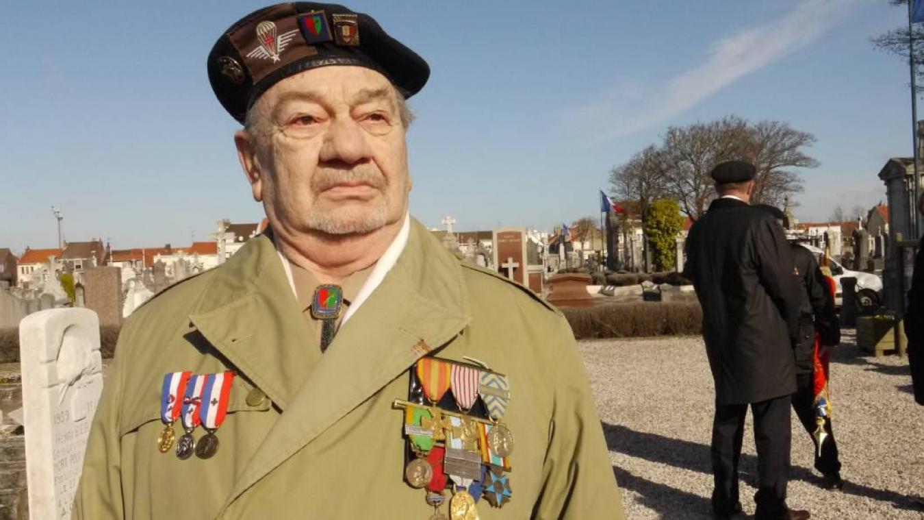 Guy Wahé a présidé le Souvenir Français pendant plus de vingt ans.
